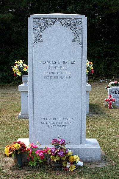 Aunt Bee, as in…… | Coal Troll's Blog