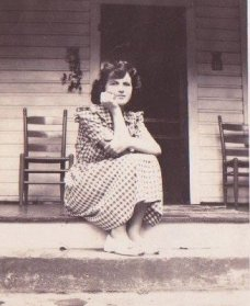 Mom in 1945 in Cumberland, Kentucky