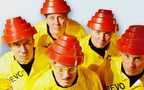 The boys from Devo sounded just liked they looked.