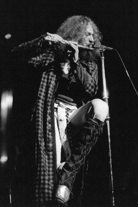 Ian Anderson's flute can fix any song.