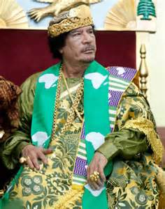Libya's late strong man was certainly a bad guy, but the world misses his style.