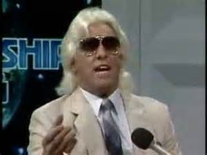 Ric Flair has nice, but the hair needs work.